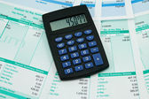 Payroll summary details — Stock Photo
