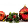Winter holiday decoration — Stock Photo