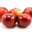 Group of red apples — Stock Photo #4547401