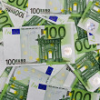 One hundred Euros background — Stock Photo