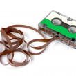 Hi-fi audio cassette — Stock Photo