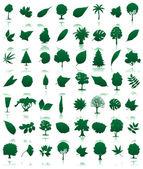 Trees icon3 — Stock Vector