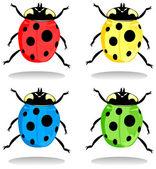 Ladybird2 — Stok Vektör