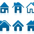 House icon — Stockvectorbeeld
