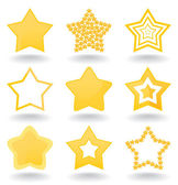 Icon a star — Stock Vector