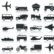 Transport icons — Stock Vector #4979953