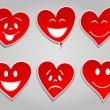 Smile hearts — Stock Vector #5363396