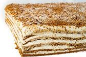 Torta con crema. — Foto Stock