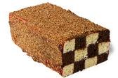 Sponge chess cake. — Stock Photo