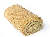 Roll cake. — Stock Photo