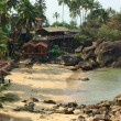 Stock Photo: Palolem Beach lagoon, Goa.