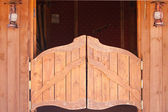Saloon old doors — Stock Photo