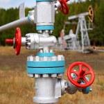 Steel pipelines — Stock Photo #4322951