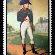 Postage stamp with Napoleon — Photo