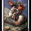 Постер, плакат: Postage stamp with Napoleon