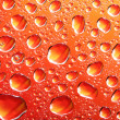 Royalty-Free Stock Photo: Orange water drops