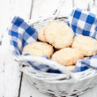 Biscuits in the basket - Stock Photo