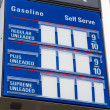 Stock Photo: Gas Marquee