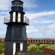 Fort Jefferson Lighthouse — Stock Photo