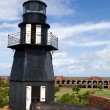 Fort Jefferson Lighthouse — Stock Photo #4750697