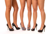 High Heeled Legs — Stock fotografie