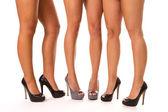 High Heeled Legs — Stock Photo