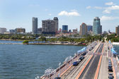 St. Petersburg Cityscape — Stock Photo