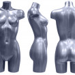 Mannequin, three angles — 图库照片