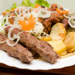 Lyulya kebab — Stock Photo