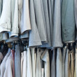 Clothes in shop — Stock Photo