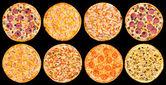 Pizza set — Foto Stock