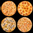 Stock Photo: Pizza set