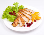 Grilled chicken breast — Stock Photo