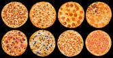 Pizza set — Stock Photo