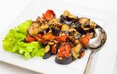 Stewed vegetables — Stock Photo