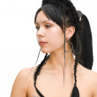 Royalty-Free Stock Photo: Complicated braids