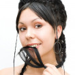 Complicated braids - Stock Photo