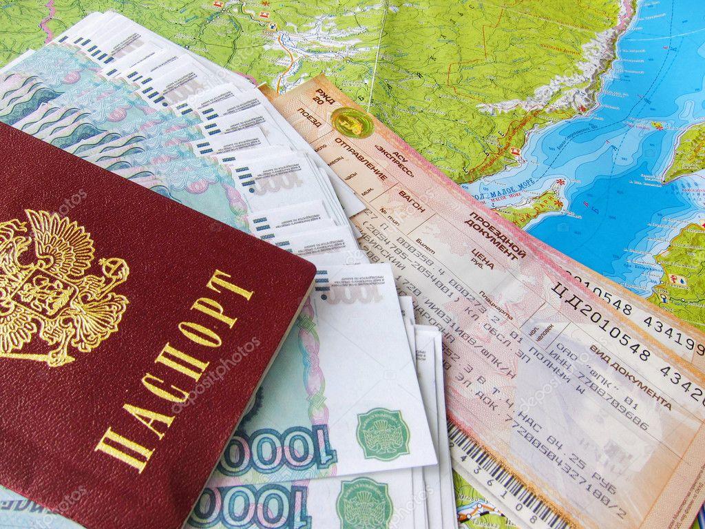 贝加尔湖地图,俄罗斯护照