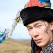 Man in Mongolian costume — Stock Photo #4453994