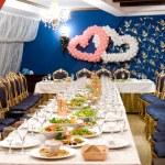 Wedding banquet table — Stock Photo #4479894