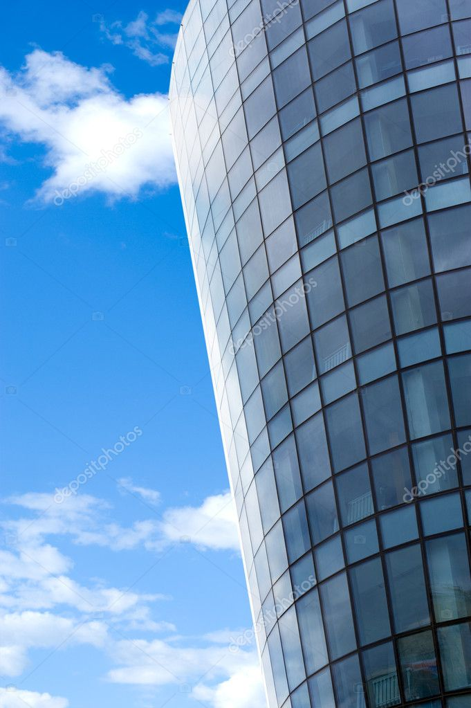 Half Round Glass Building Stock Photo Withgod 4853758