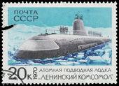 Stamp, macro — ストック写真