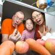 Hungry family — Stock Photo #5228781