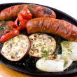 Grilled sausages — Stock Photo #5260133