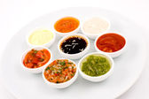 Sauces palette — Stock Photo