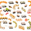 Big sushi set — Stock Photo #5356177