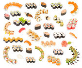 Big sushi set — Stock Photo