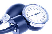 Medical manometer closeup — Stock Photo
