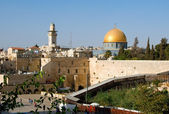 The Temple Mount in Jerusalem — Stock Photo