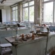 Abandoned school - Stock Photo